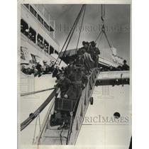1933 Press Photo Nicaraguan Expeditionary Force Arriving in San Diego