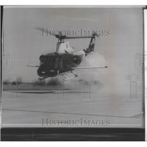 1964 Press Photo YUH1B compound helicopter unofficially broke speed record