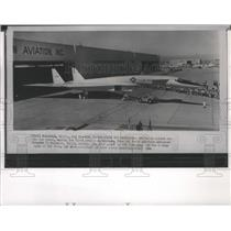 1964 Press Photo Airplane, The XB-70A rolled out from North American Aviation