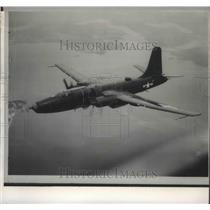 1959 Press Photo Patrol Plane-United States P-4M attacked by Russian built MIG