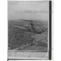 1985 Press Photo The Hueycobra built by Bell Helicopter Company - spa74637