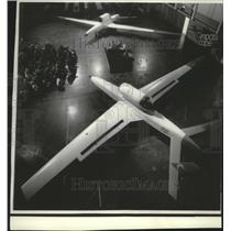 1971 Press Photo Remotely piloted vehicles- Prototype Spy Planes - spa74375