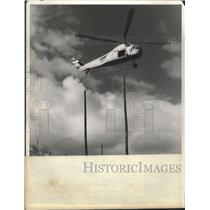 Press Photo Helicopter Taking Off - nef68551