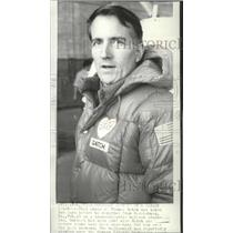 1974 Press Photo Thomas Gatch before his Trans-Atlantic balloon crossing flight