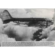 1950 Press Photo The type of C-46 plane that crashed into the Atlantic Ocean
