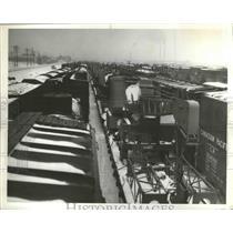 1951 Press Photo Army Gear Bound for Overseas - nef66701