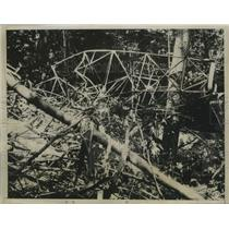 1934 Press Photo Hidden in Catskills For 40 Hours Missing Air Liner Had Crashed