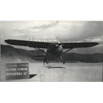1946 Press Photo Training plane lands in Creede Colorado - spa69173