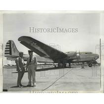 1941 Press Photo Col James G. Taylor and Major Stanley Umstead Piloted B-19