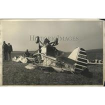 1932 Press Photo Two Brothers Killed When Their Plane Went Into a Tail Spin