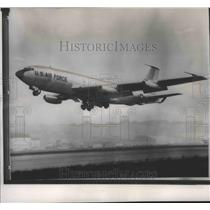1967 Press Photo This Air Force KC-135 Jet Stratotanker- Set World Distance Rec
