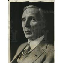 1927 Press Photo M. Farman French Aircraft designer & Builder Trans-Atlantic