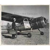 1952 Press Photo Chile Has 3 Airplane to Speed up Road Projects for Public Works