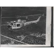 1958 Press Photo Turbine Powered Helicopter by Bell Helicopter Corporation