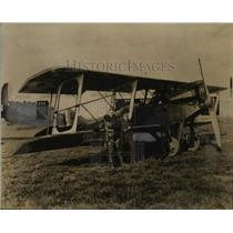 1921 Press Photo Sanford Moss Flight Plane - neo10756