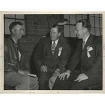 1947 Press Photo Flying Farmers Club members - spa69169