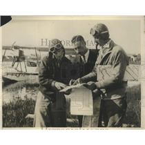 1929 Press Photo Mapping Plane for Airplane Research for Pathe News Expdition