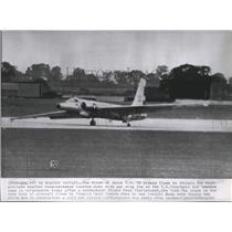 1962 Press Photo UT Patrol Airplane at the U.S. Strategic Air Command Base