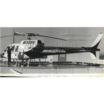 1985 Press Photo Sacred Heart Hospital-Heartflite pilot-Tom Gauld - spa69531