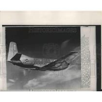 1954 Press Photo Douglas YC-124B first four-engine turbo-prop transport