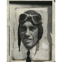 1931 Press Photo Aviator Jim Wechell ready for a flight - neo20464