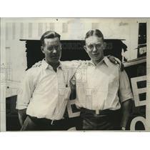 1930 Press Photo Forest O'Brien, Dale Jackson attempt endurance flight record