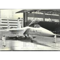 1973 Press Photo F15 Fighter Plane from McDonnell Douglas Corp., St. Louis, Mo.