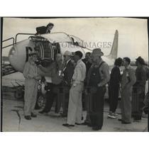 1946 Press Photo Flying Farmers - spa69172