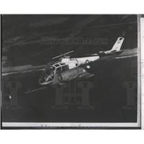 1964 Press Photo Helicopter-Lockheed built XH51A, the fastest winged helicopter