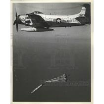 1959 Press Photo U.S Navy Mark 44 Torpedo Anti-Submarine Weapon - nef66904