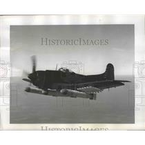 1949 Press Photo Martin AM-1 Mauler Navy's Heavily Armed Carrier Torpedo Bomber