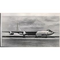1952 Press Photo Airplane, Convair YB-60 eight jet engine bomber - spa73828