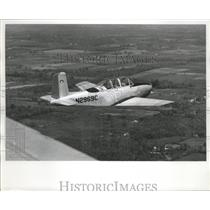 1987 Press Photo Beech T-34 Mentor, new addition to Civil Air Patrol fleet