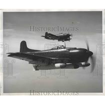 1949 Press Photo Martin BM-1 Dive Bomber of 1929 flown by the AM-1 Mauler