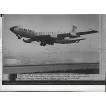 1965 Press Photo Air Force KC135 Tanker Plane crashed in Wichita, Kansas