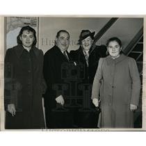 1938 Press Photo New York Marchese Carlo DeConstantini Di Chaterunewf NYC