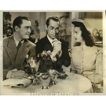 """1941 Press Photo Scene from """"She Knew All The Answers"""" Starring John Hubbard"""