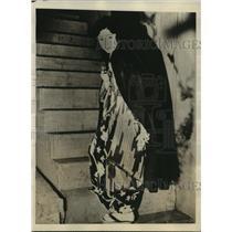 1928 Press Photo Miss Rumiko Kurishima, Highest Salaried Actress Japan, Kamata