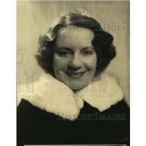 1939 Press Photo Portland Hoffa, Husband, Fred Allen, NBC Red Radio Network