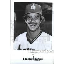 1977 Press Photo Tom House-Seattle Mariners Baseball Left Handed Pitcher