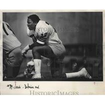 1980 Press Photo Jacob Green-Seattle Seahawks Football Defensive End - sps04707