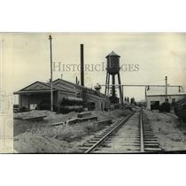 1927 Press Photo The Main Treating Plant - Washington Wood Pressing Co. Hillyard