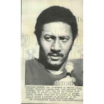 1977 Press Photo Minnesota Vikings football player, Chuck Foreman - sps04905