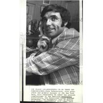 1973 Press Photo Dave DeBusschere, New York Nets basketball executive - sps04953