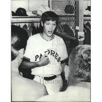 1970 Press Photo San Diego Padres baseball player, Clay Kirby - sps05010