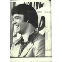 1975 Press Photo New England Patriots 1st round draft pick, Russ Francis