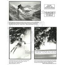 1995 Press Photo John Tremann and Justin Patnode in Endless Winter. - spp08468