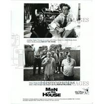 1995 Press Photo Jonathan Taylor Thomas and Chevy Chase in Man of the House.