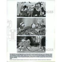1990 Press Photo Scenes from DuckTales: The Movie - Treasure of the Lost Lamp.