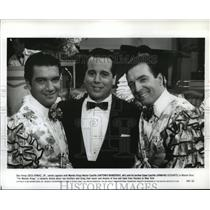1992 Press Photo Desi Arnaz Jr. and Antonio Banderas in The Mambo Kings.